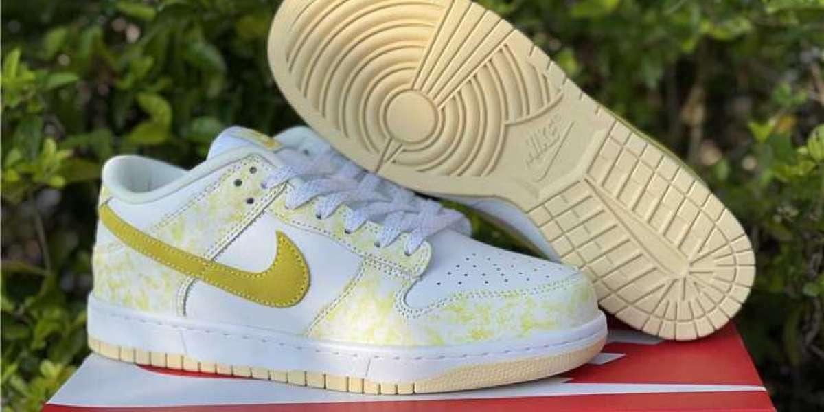 2021 Nike Dunk Low Yellow Strike DM9467-700