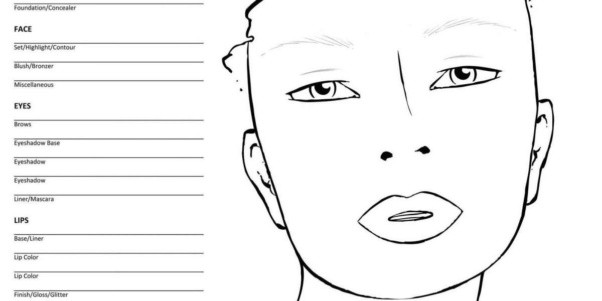 64 Printable Blank Face Charts Keygen .zip Download License Pc Build