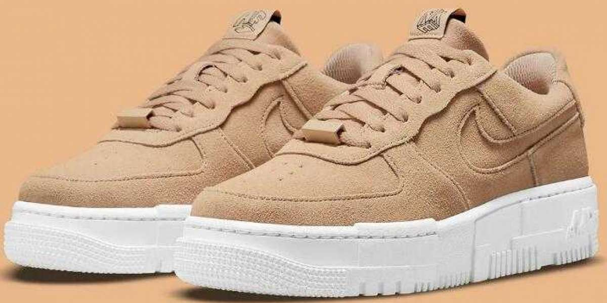 Nike Air Force 1 Pixel Coming With Autumn-Appropriate In Tan Suedes
